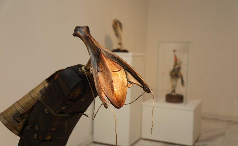 """ХААН галерейд """"Далны симфони"""" уран бүтээлийн үзэсгэлэн нээгдлээ"""